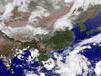 衛星雲圖天氣