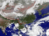 衛星雲(yun)圖天氣